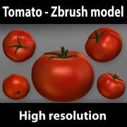 Tomato - zbrush model 3d model