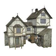 Tudor House 3d model
