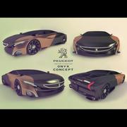 onyx concept car 3d model