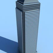 One Canada Square 3d model