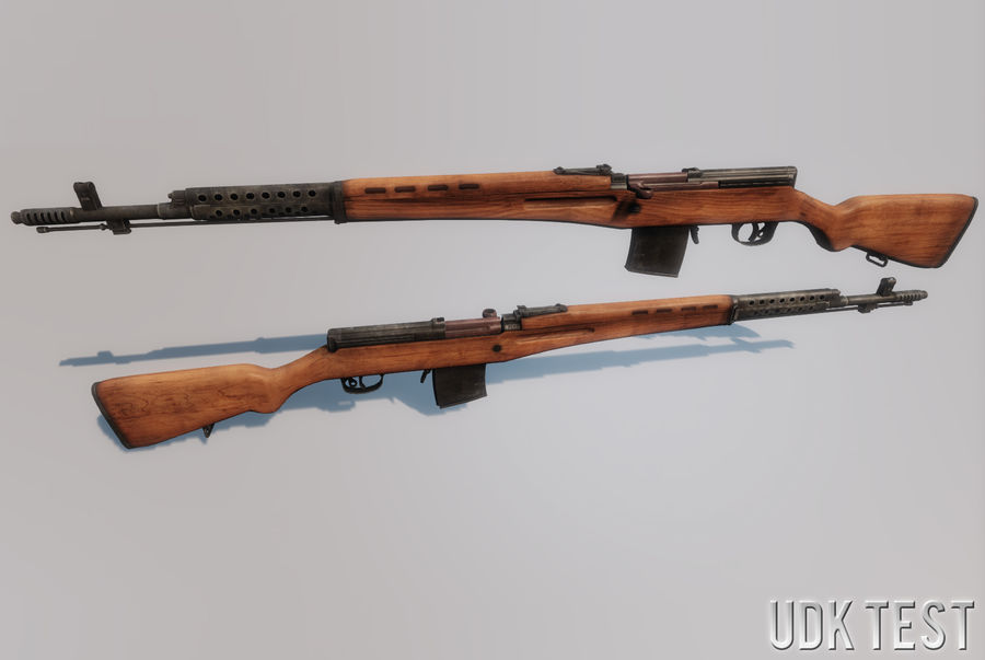 SVT-40 royalty-free 3d model - Preview no. 23
