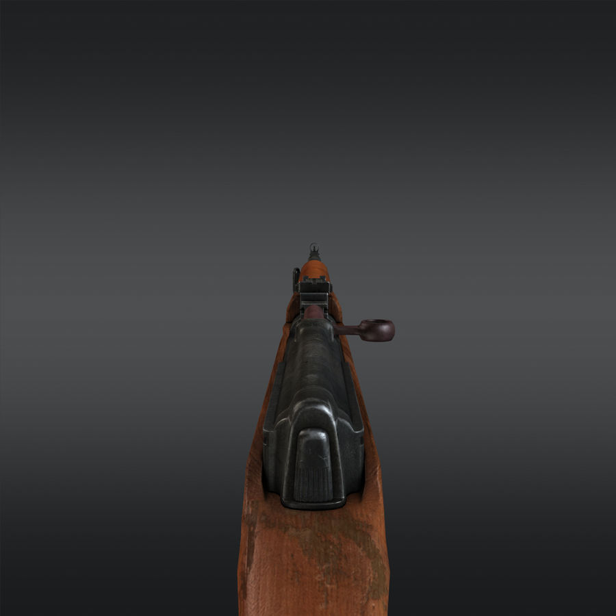 SVT-40 royalty-free 3d model - Preview no. 12