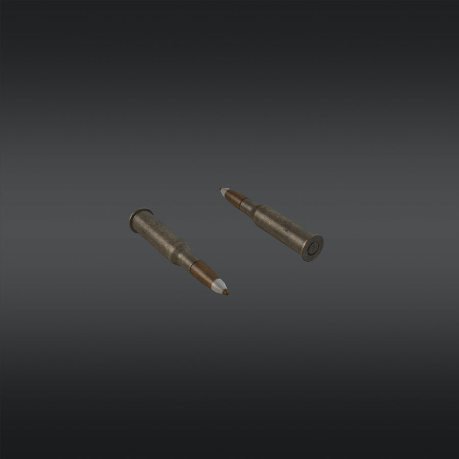 SVT-40 royalty-free 3d model - Preview no. 16