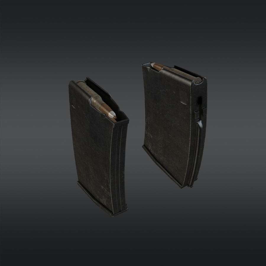 SVT-40 royalty-free 3d model - Preview no. 15