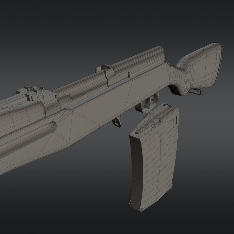SVT-40 royalty-free 3d model - Preview no. 22