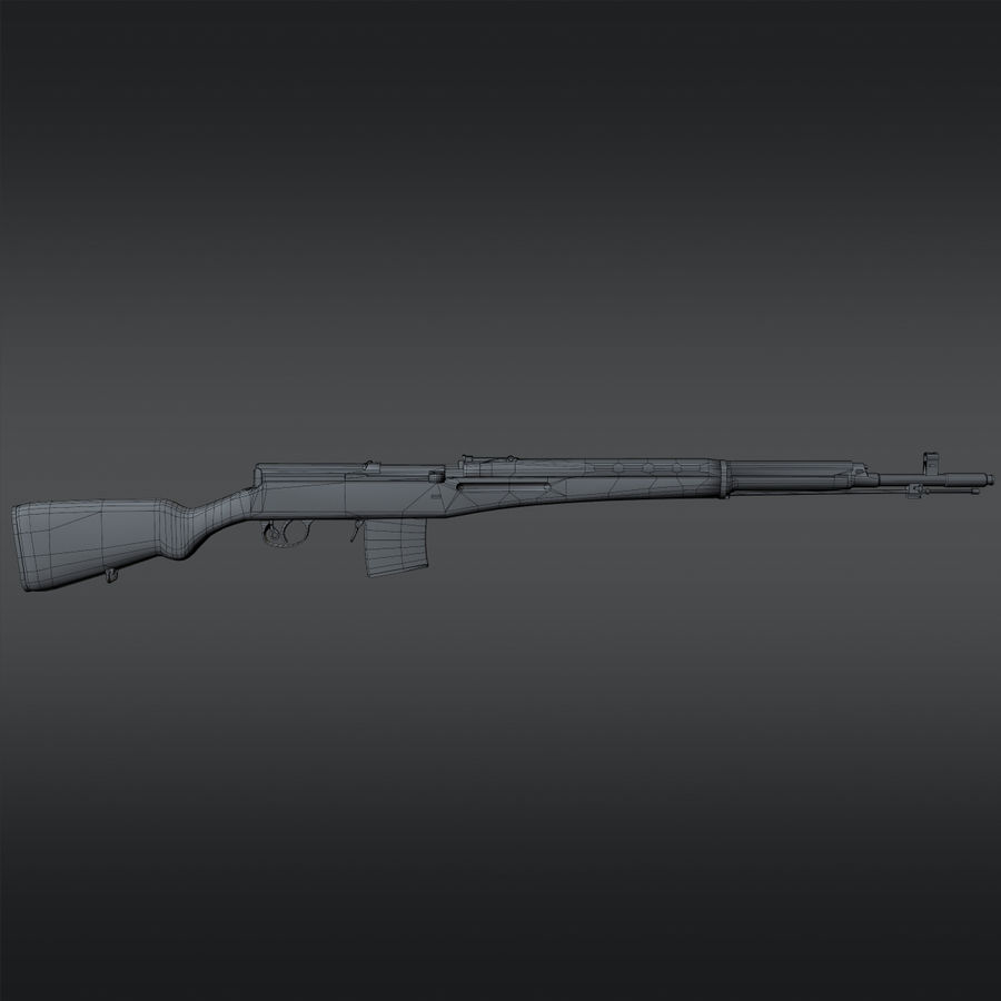 SVT-40 royalty-free 3d model - Preview no. 21