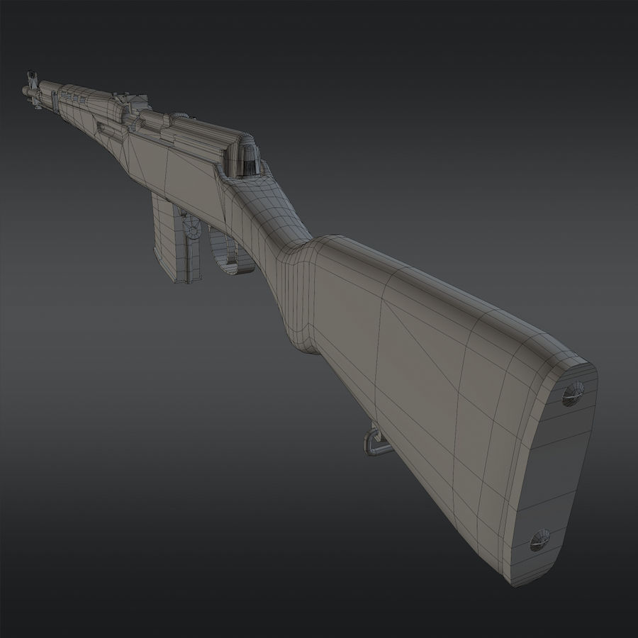 SVT-40 royalty-free 3d model - Preview no. 20