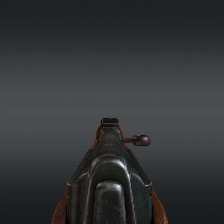 SVT-40 royalty-free 3d model - Preview no. 13