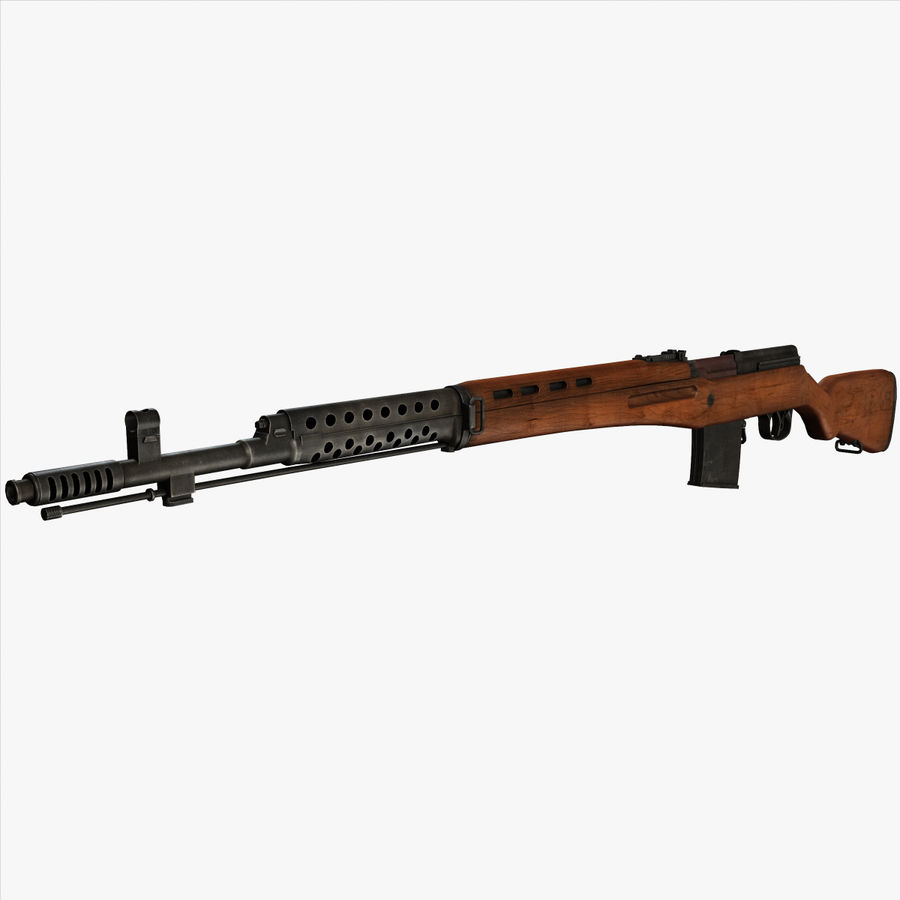 SVT-40 royalty-free 3d model - Preview no. 1