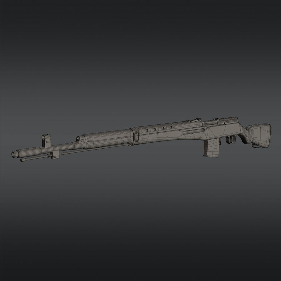 SVT-40 royalty-free 3d model - Preview no. 19