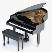 Klavier 3d model