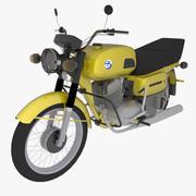 Motorfiets Voshod 3M 3d model