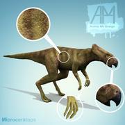 dinosaurs Microceratops 3d model