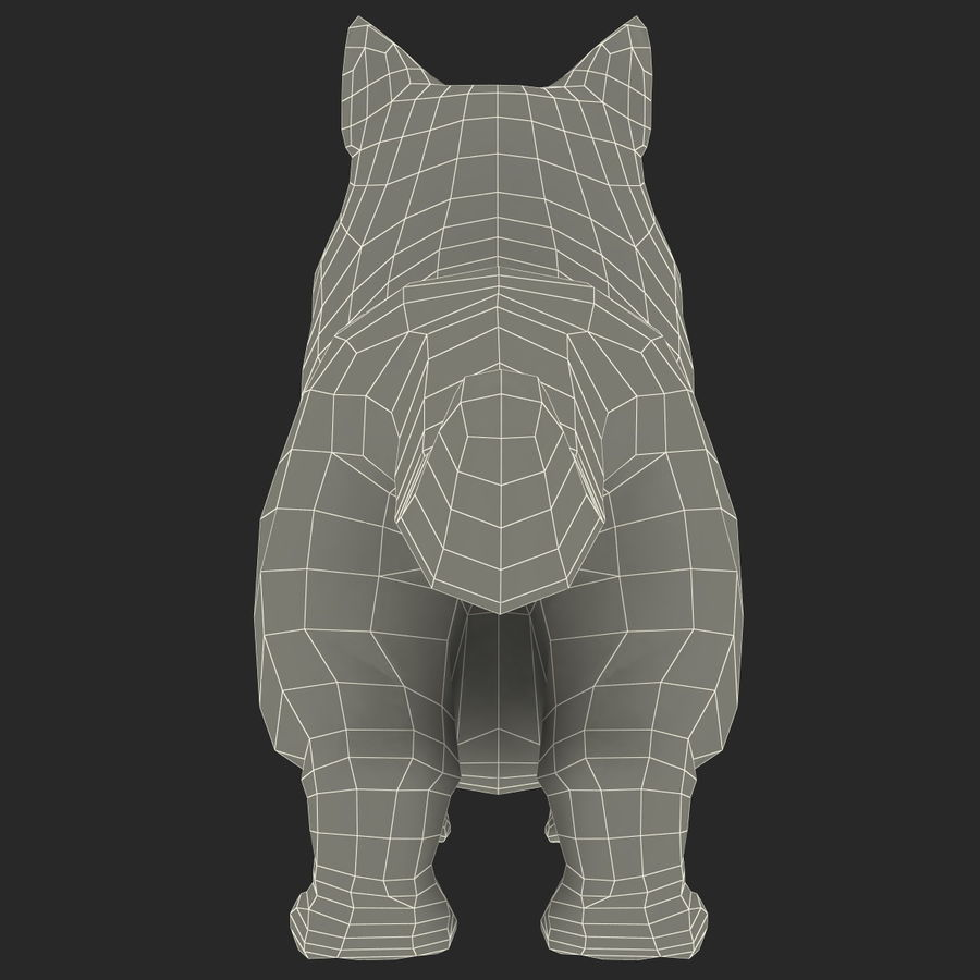 Munchkin Cat royalty-free 3d model - Preview no. 13