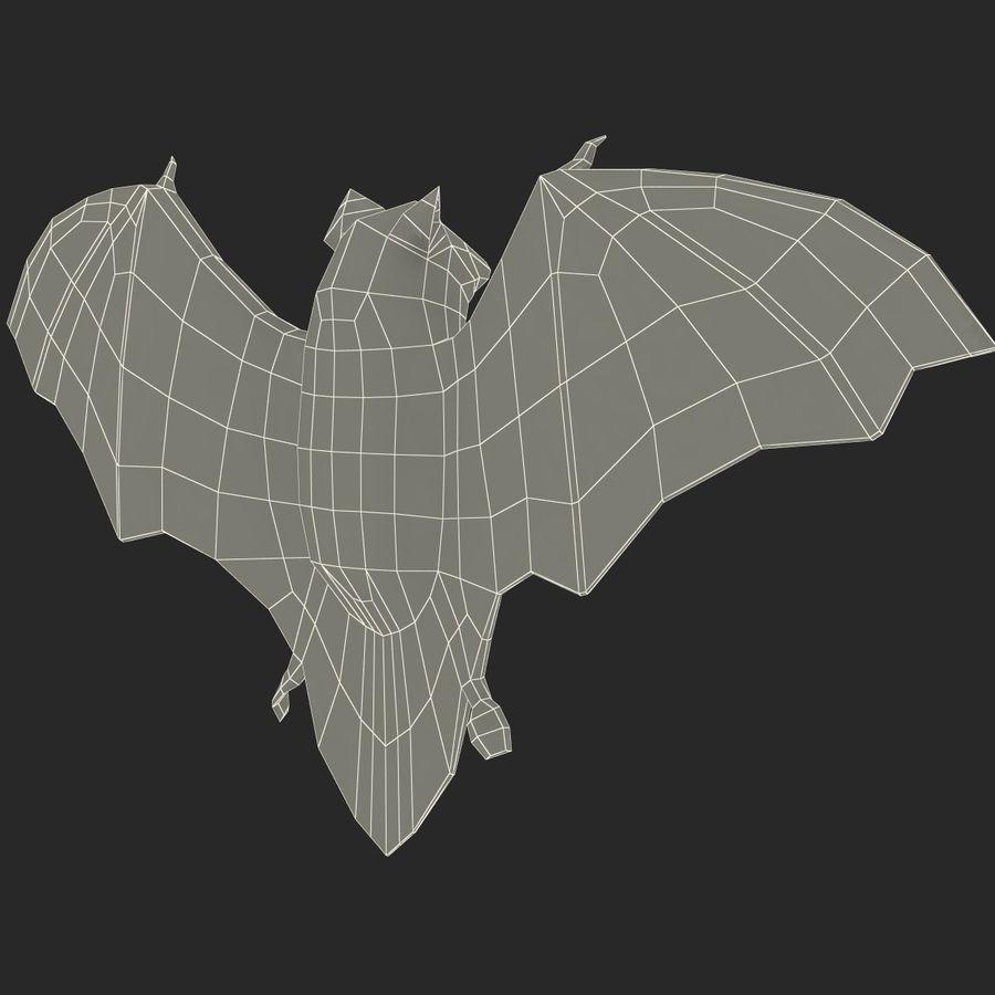 Bat royalty-free 3d model - Preview no. 14