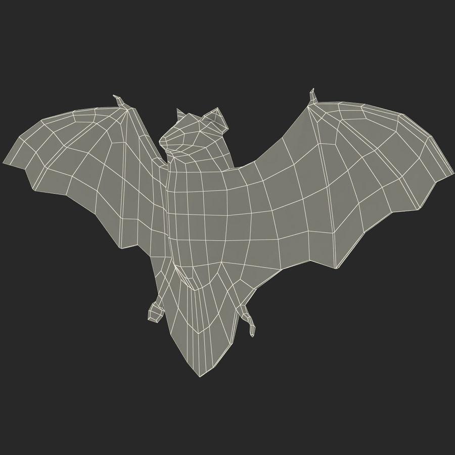 Bat royalty-free 3d model - Preview no. 17