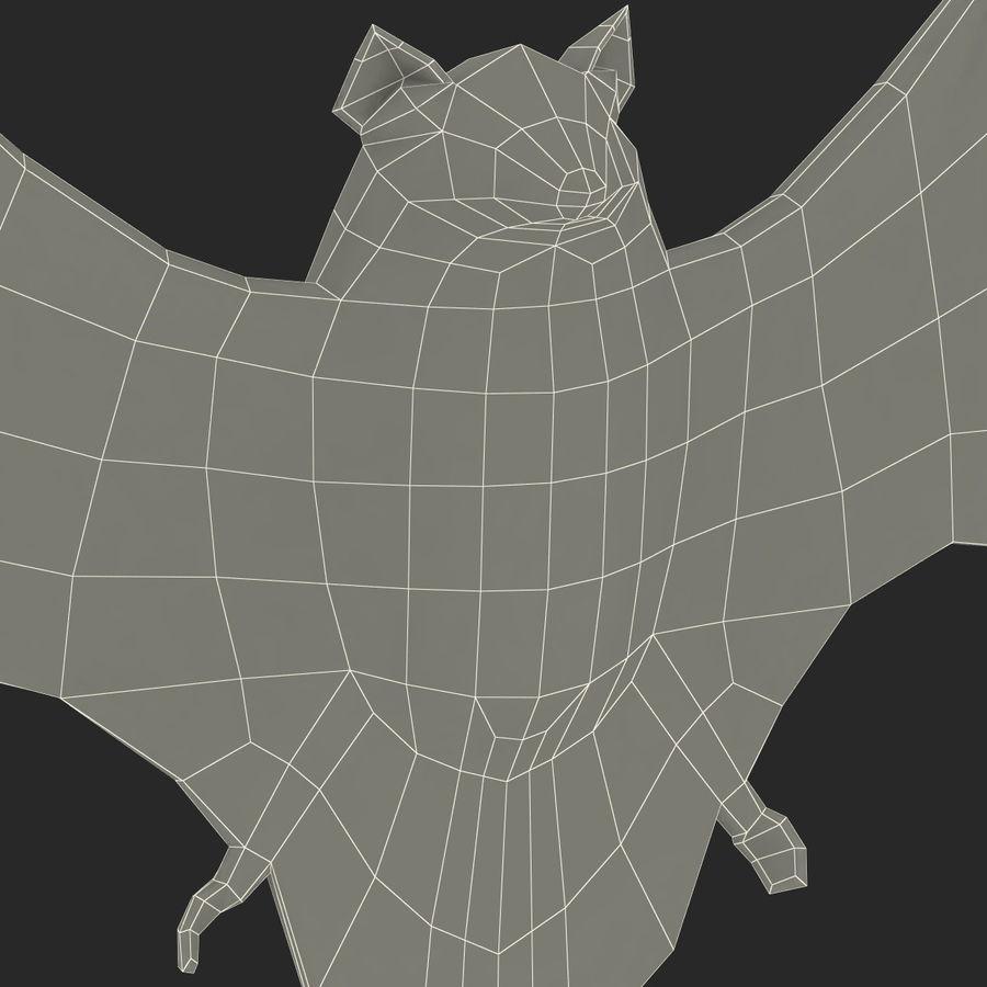 Bat royalty-free 3d model - Preview no. 18