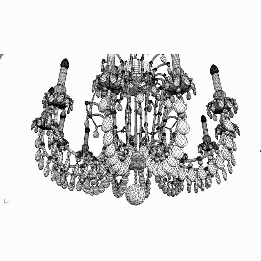 Maria Theresa_12+ royalty-free 3d model - Preview no. 16