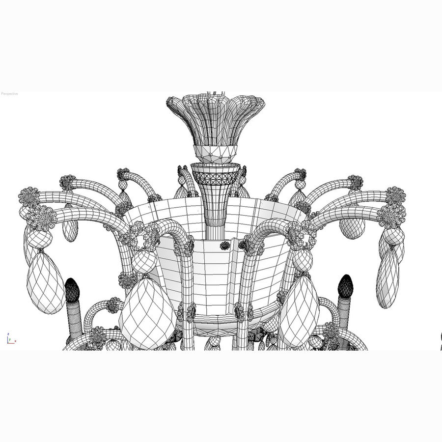 Maria Theresa_12+ royalty-free 3d model - Preview no. 15