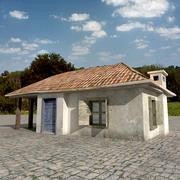 Village House 02 3d model