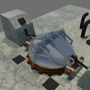 Ракетный бункер 3d model