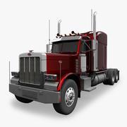 Ciężka ciężarówka 3d model