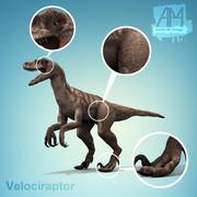 速龙恐龙 3d model