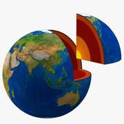 Núcleo da Terra 3d model