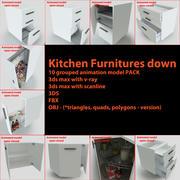 Mutfak Mobilyaları 3d model