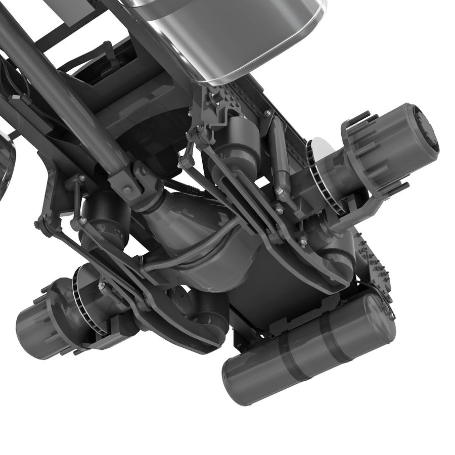 Truck Chassis royalty-free 3d model - Preview no. 11