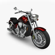혼다 VTX 3d model