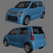 Suzuki Wagon R 2013 3d model