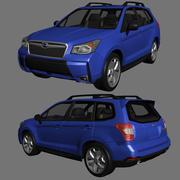 Subaru Forester 2013 3d model