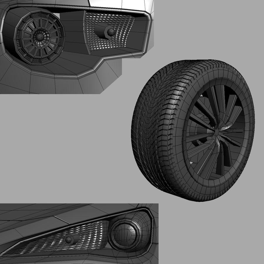 Vástago FR-S 2013 royalty-free modelo 3d - Preview no. 5