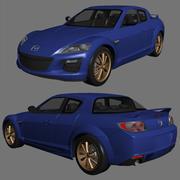 Mazda RX8 2013 3d model