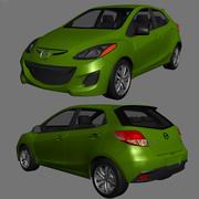 Mazda Demio 2013 3d model
