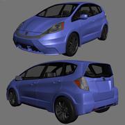 Honda Fit 2013 3d model