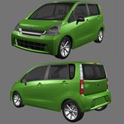 Daihatsu Move 2013 3d model