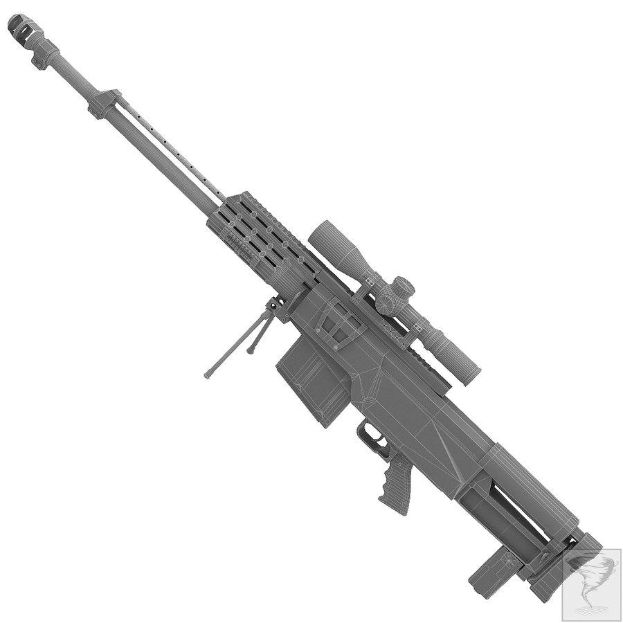 AS50 Precisión Internacional royalty-free modelo 3d - Preview no. 22