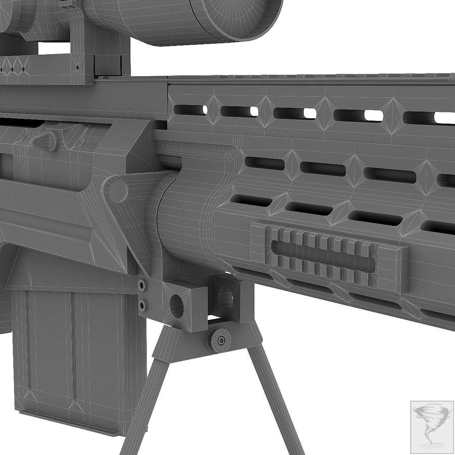 AS50 Precisión Internacional royalty-free modelo 3d - Preview no. 33