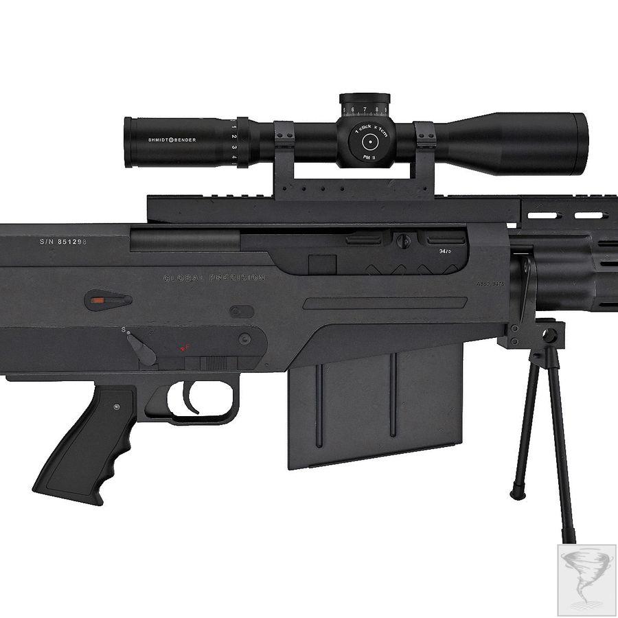 AS50 Precisión Internacional royalty-free modelo 3d - Preview no. 14