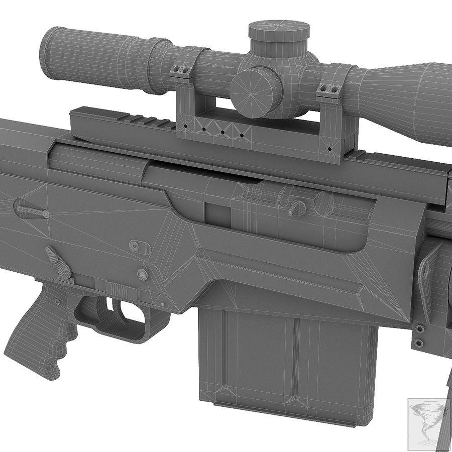 AS50 Precisión Internacional royalty-free modelo 3d - Preview no. 30