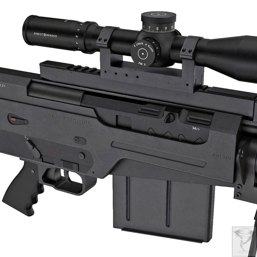 AS50 Precisión Internacional royalty-free modelo 3d - Preview no. 12