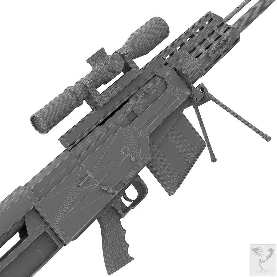 AS50 Precisión Internacional royalty-free modelo 3d - Preview no. 25