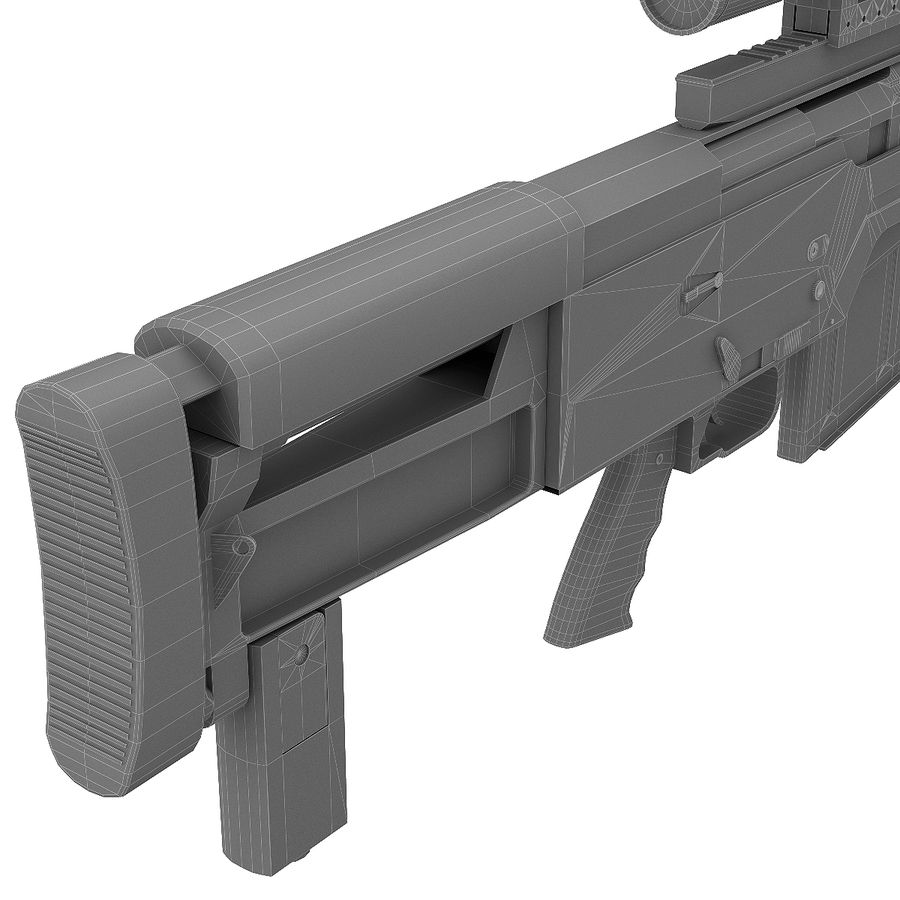 AS50 Precisión Internacional royalty-free modelo 3d - Preview no. 28