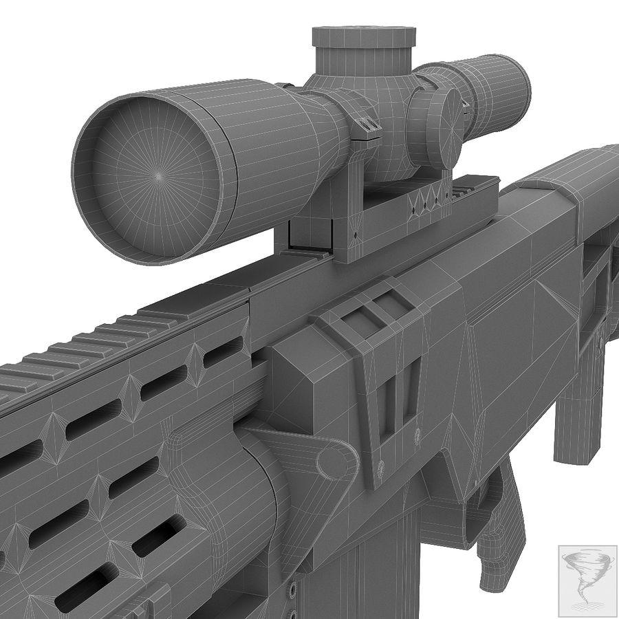 AS50 Precisión Internacional royalty-free modelo 3d - Preview no. 35