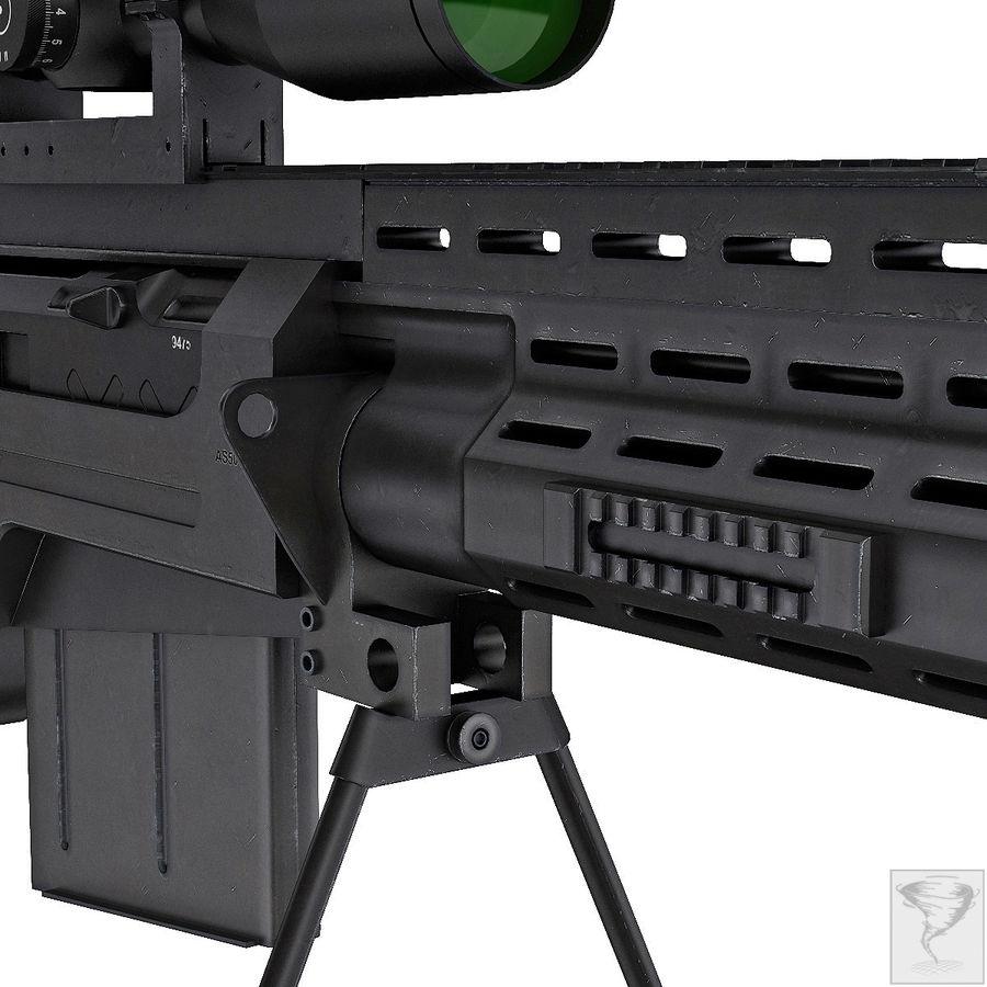 AS50 Precisión Internacional royalty-free modelo 3d - Preview no. 15