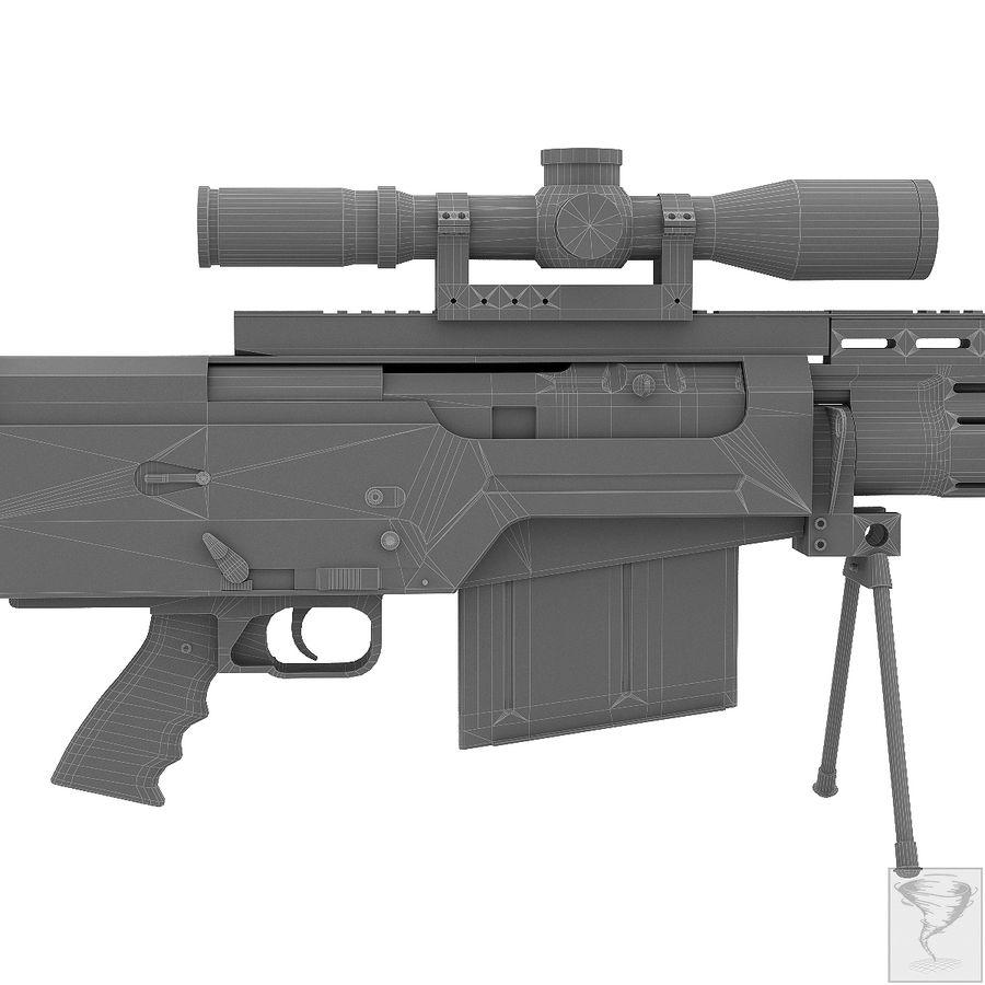 AS50 Precisión Internacional royalty-free modelo 3d - Preview no. 32