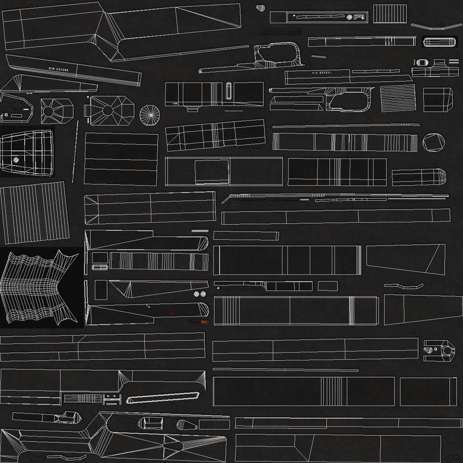 AS50 Precisión Internacional royalty-free modelo 3d - Preview no. 19