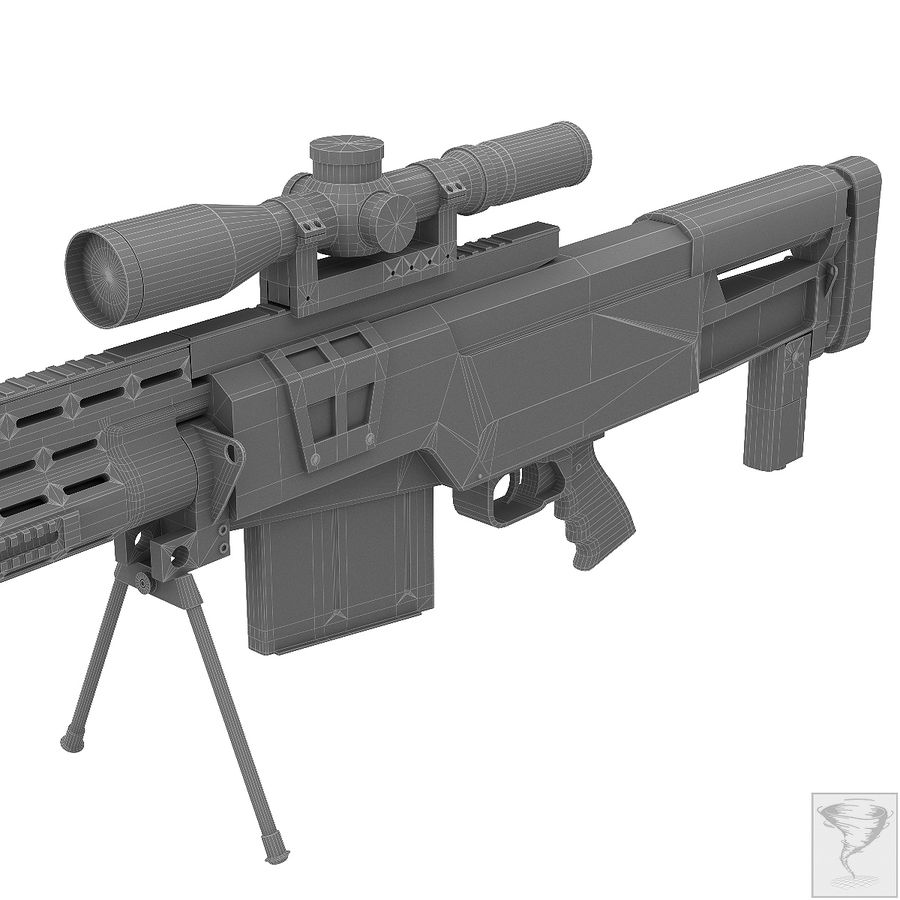 AS50 Precisión Internacional royalty-free modelo 3d - Preview no. 27